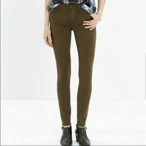 Madewell Skinny Skinny Sateen Jeans, Style B1382